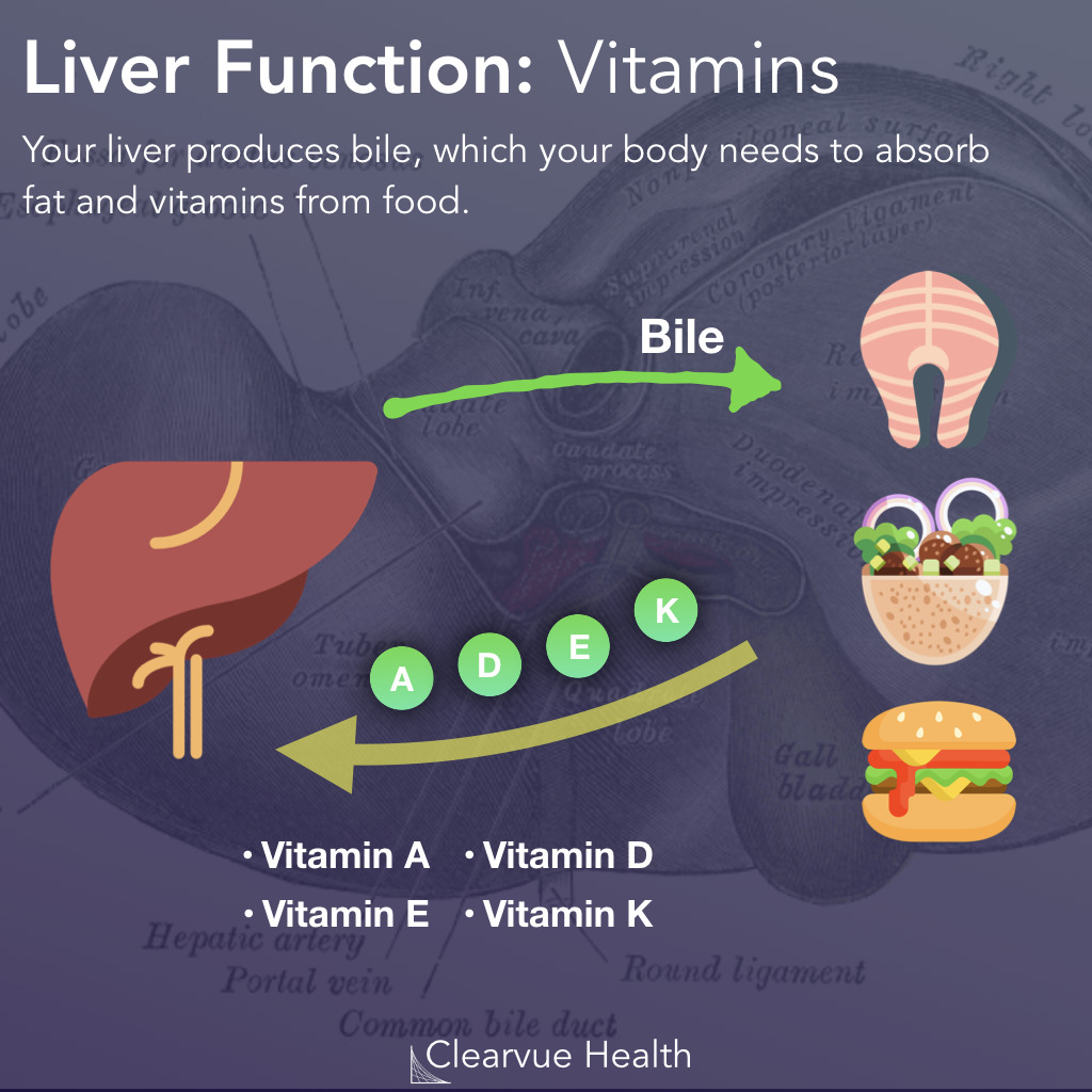 Vitamins: The Role of the Liver