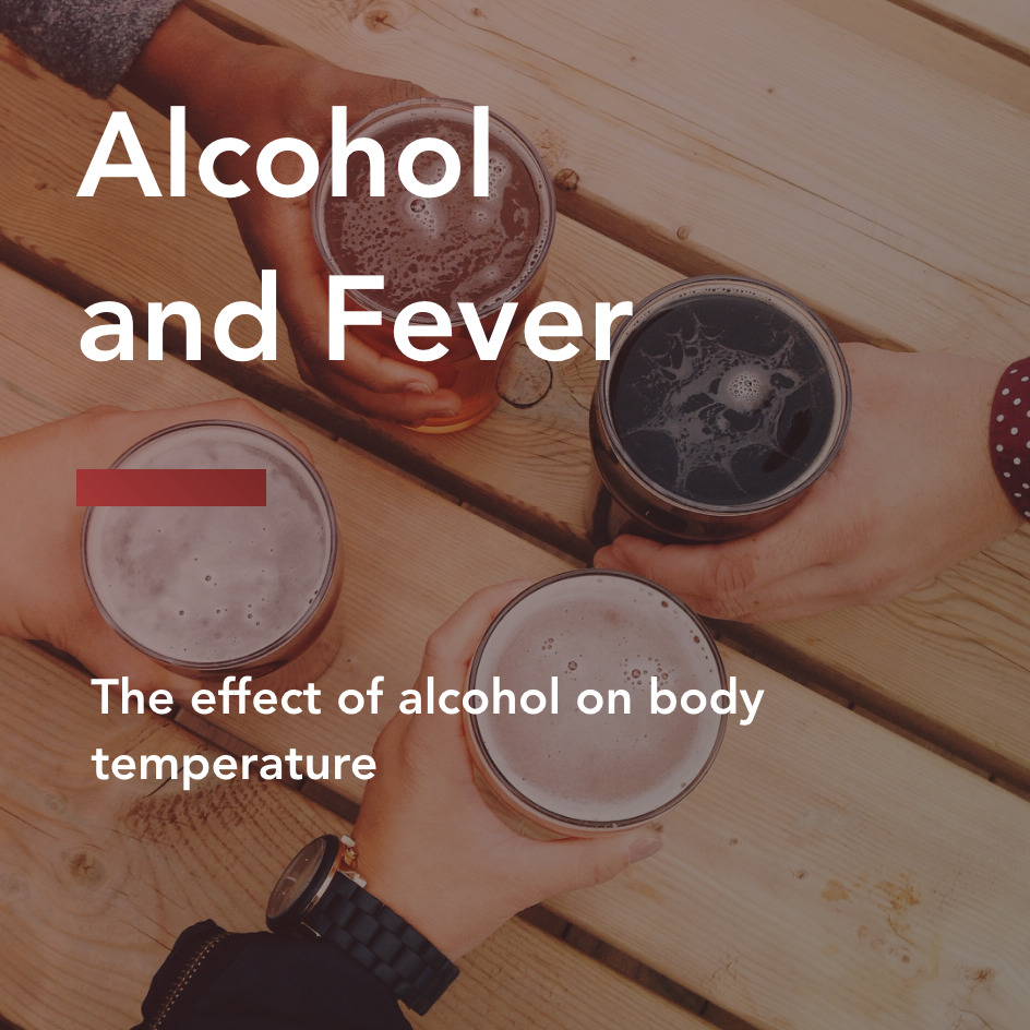 alcohol and fever title