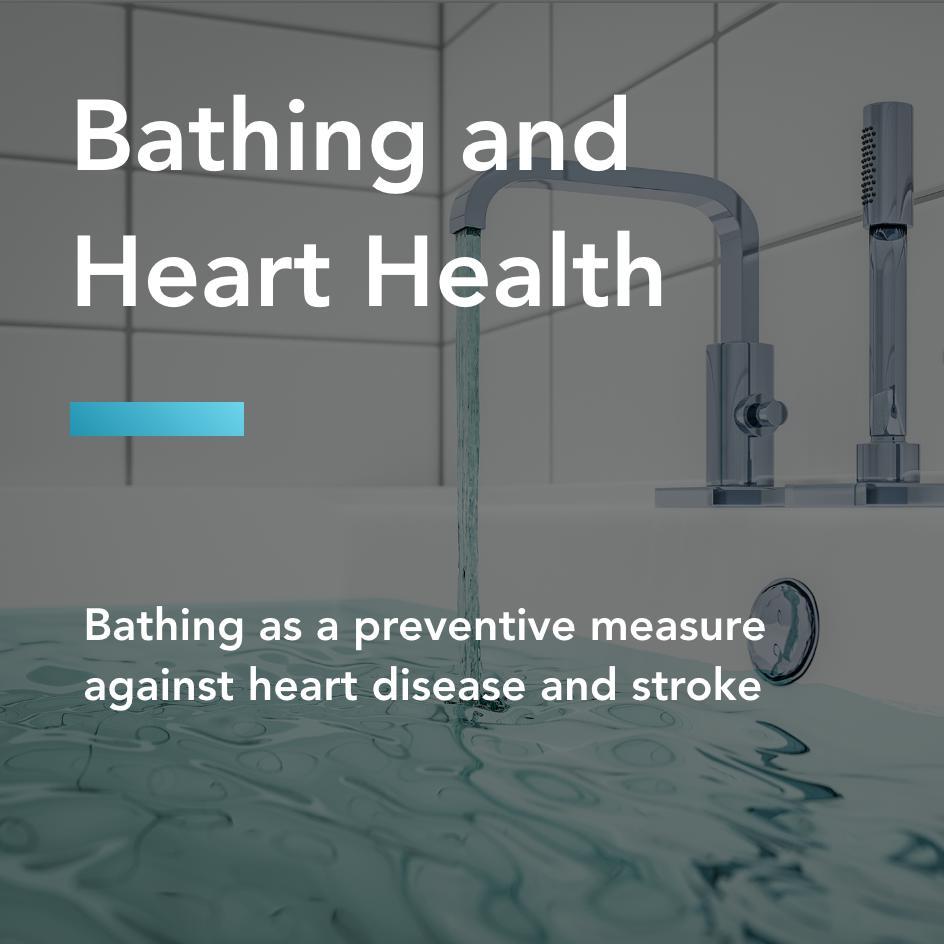bathing and heart health