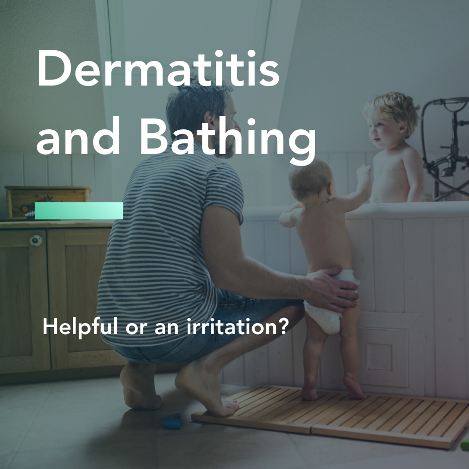 dermatitis and bathing title