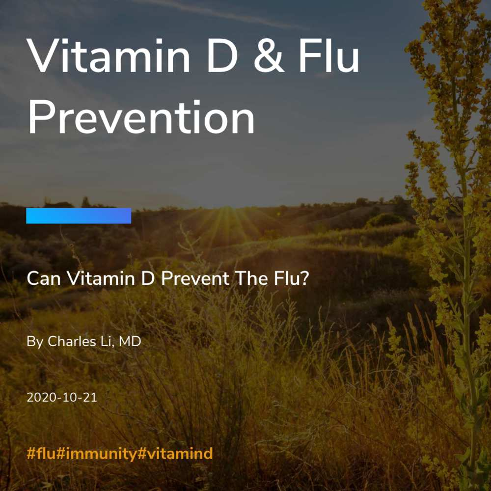 Vitamin D & Flu Prevention