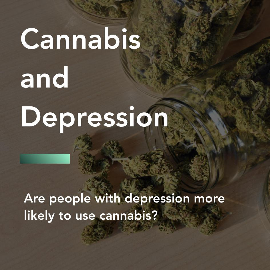 cannabis and depression title