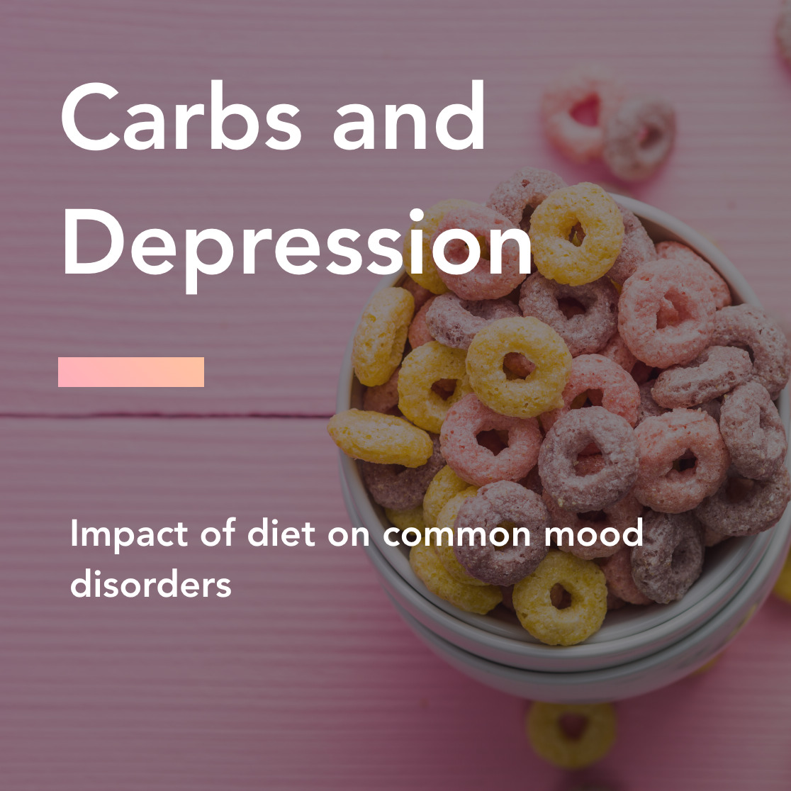 Carbs and depression title