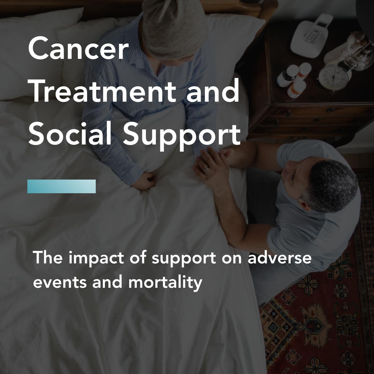 Cancer treatment and social support title