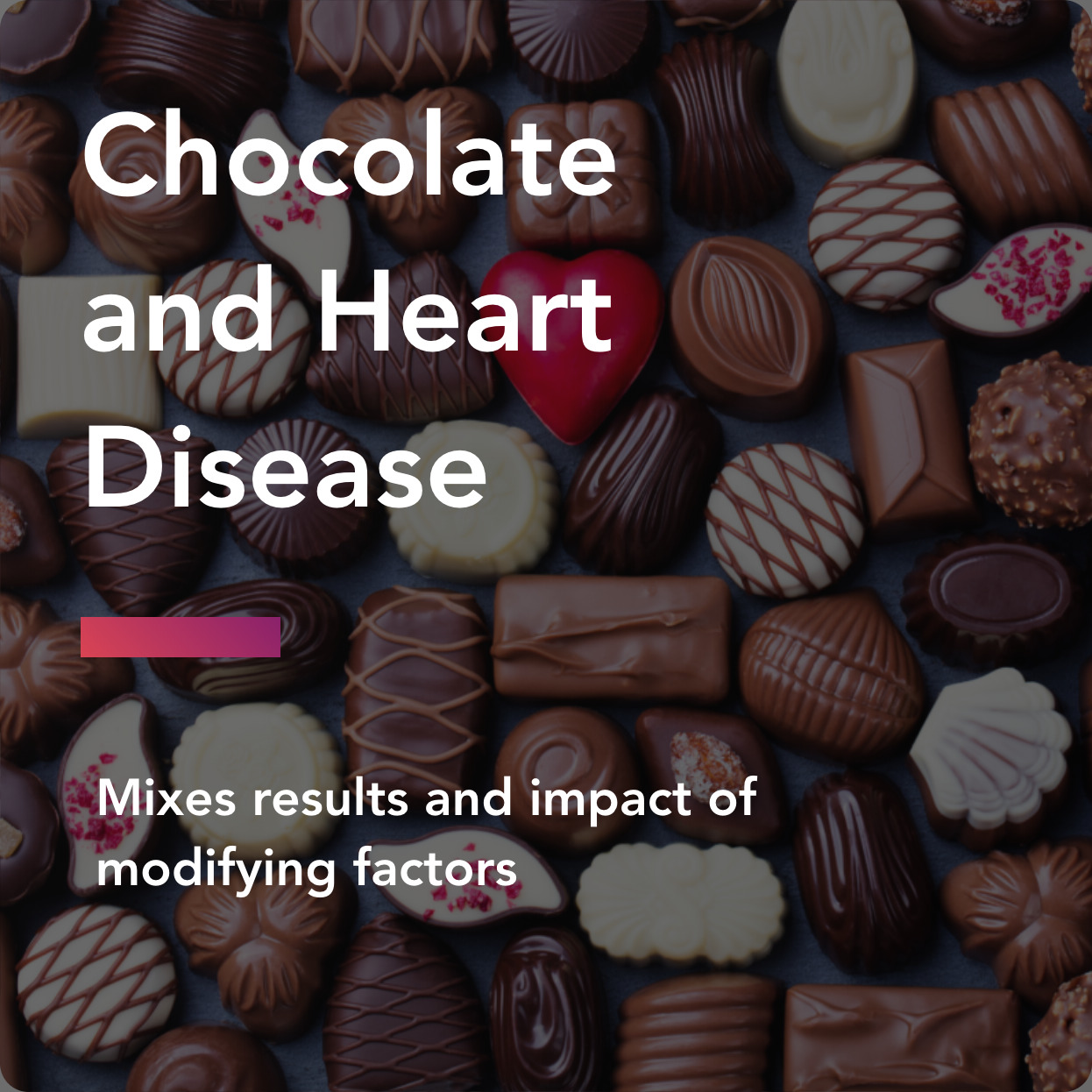 chocolate and heart disease title