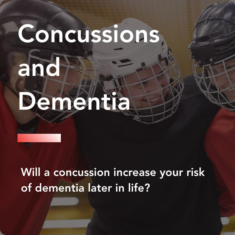 Concussions and dementia title