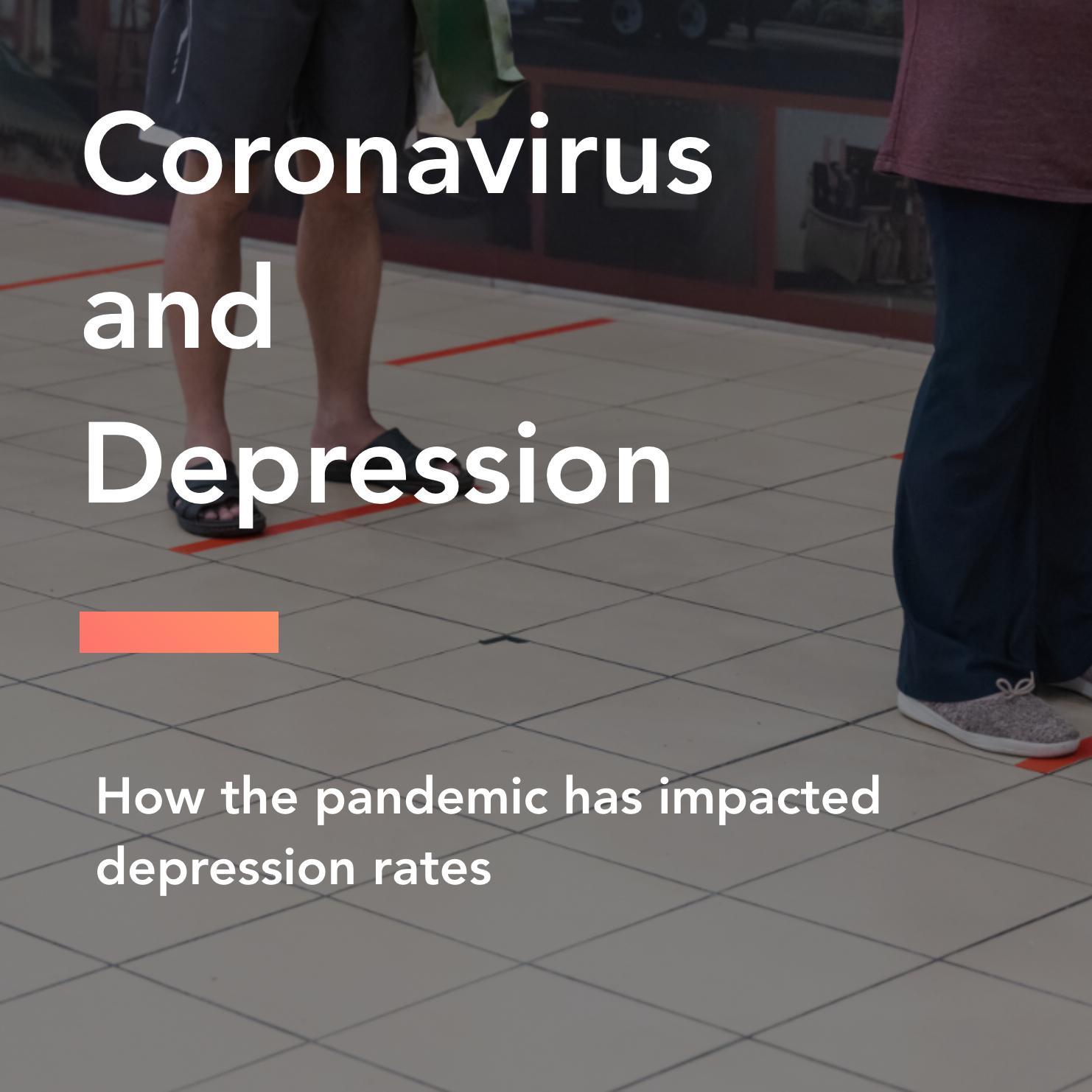 coronavirus and depression title
