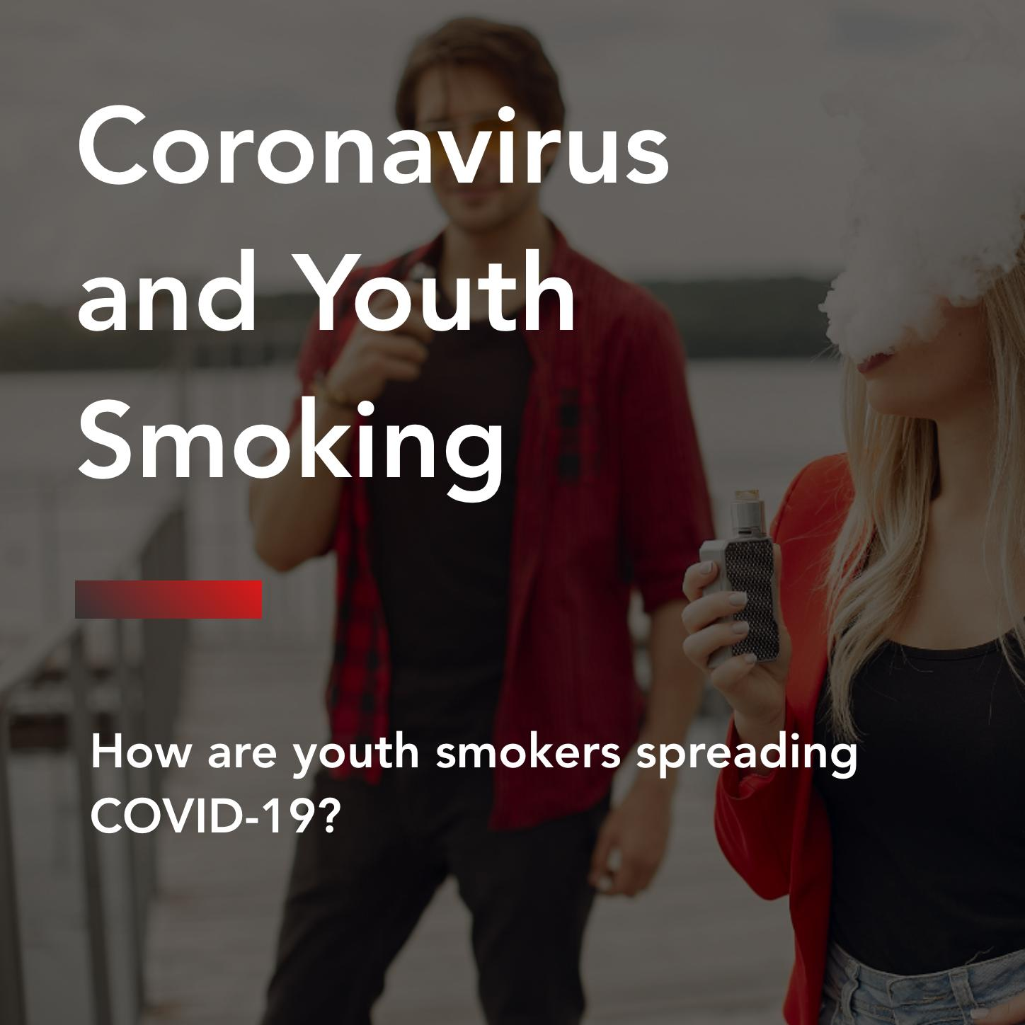 Coronavirus and youth smoking title