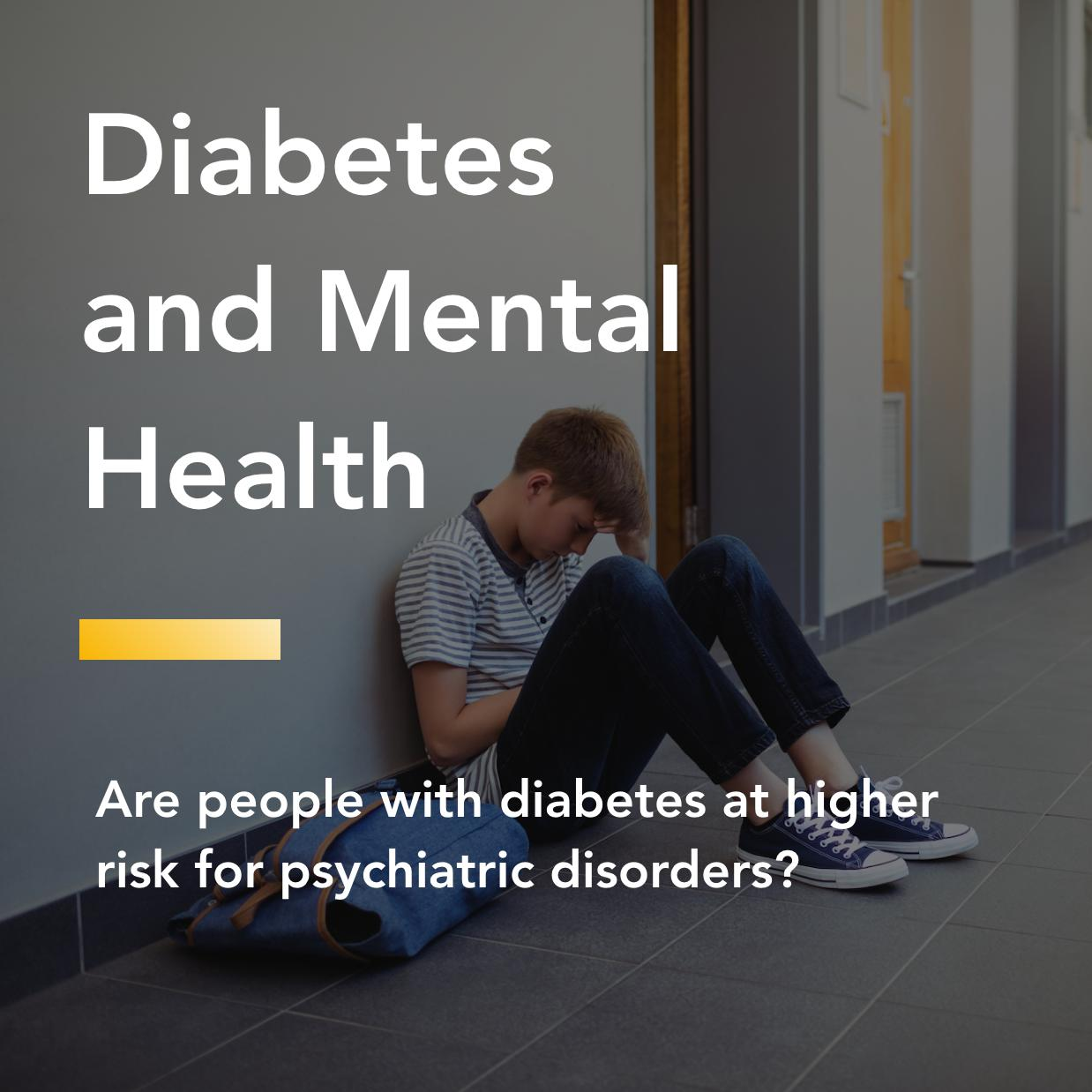 diabetes and mental health title