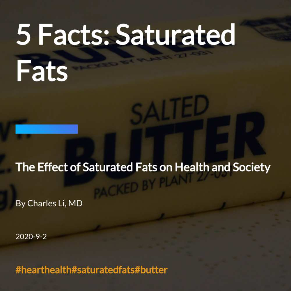 5 Facts: Saturated Fats