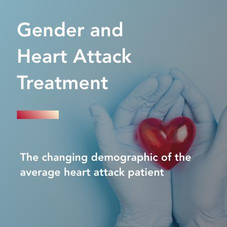 gender and heart attack treatment title