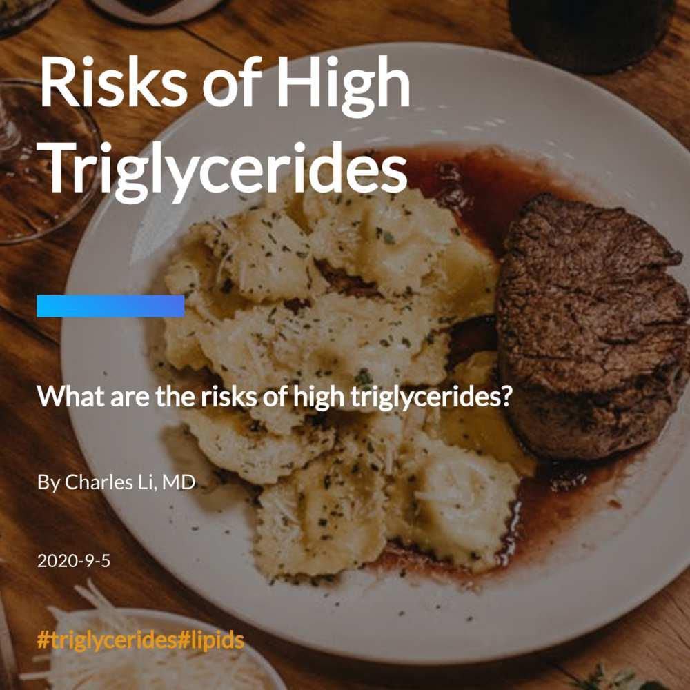Risks of High Triglycerides