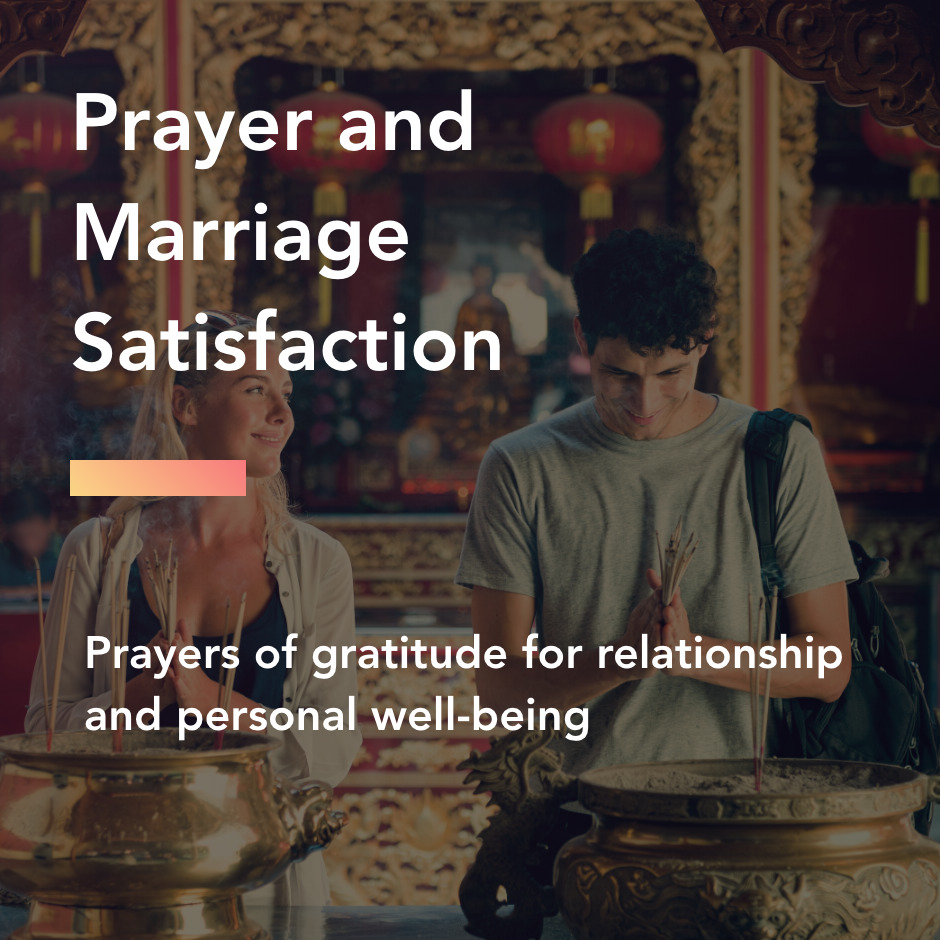 marriage and prayer title