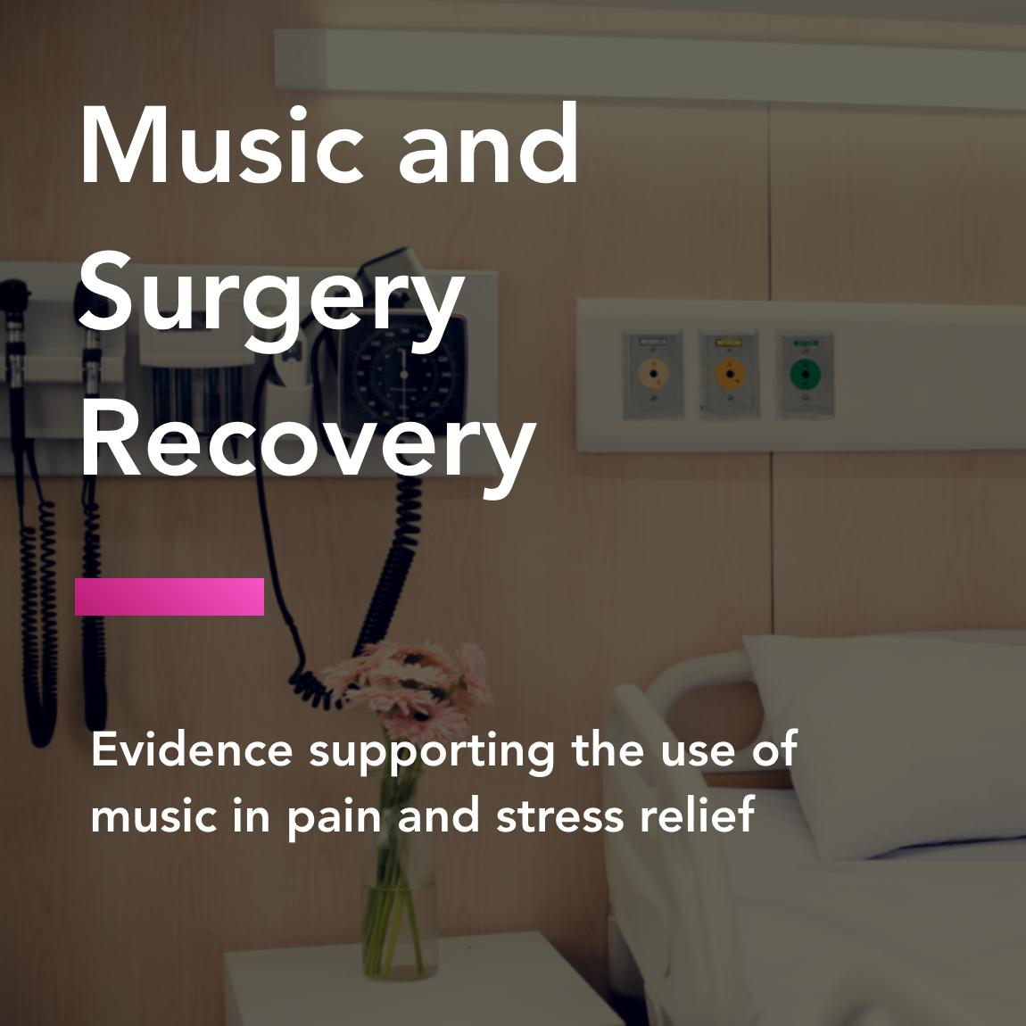 music and surgery title