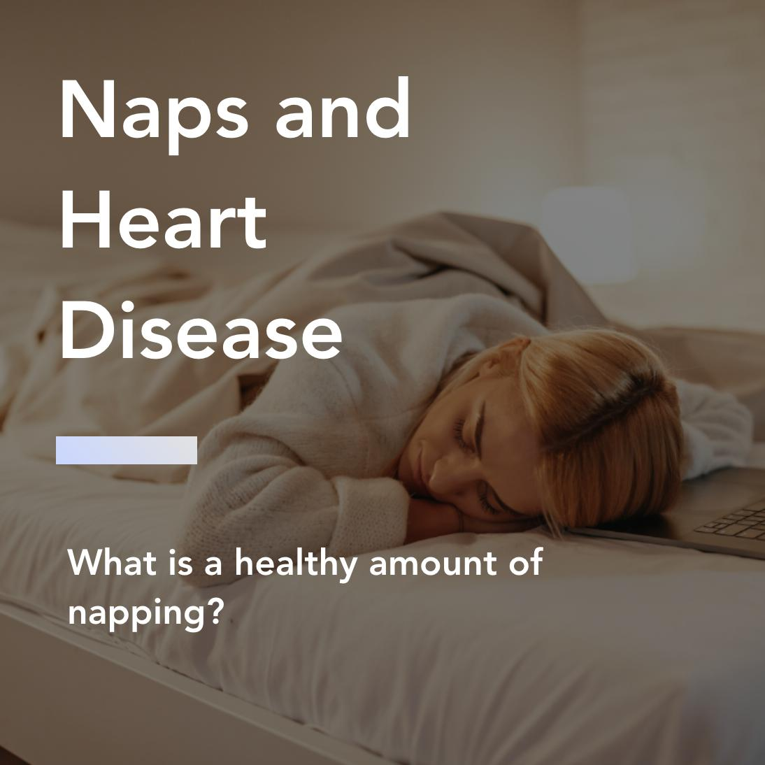 naps and heart disease title