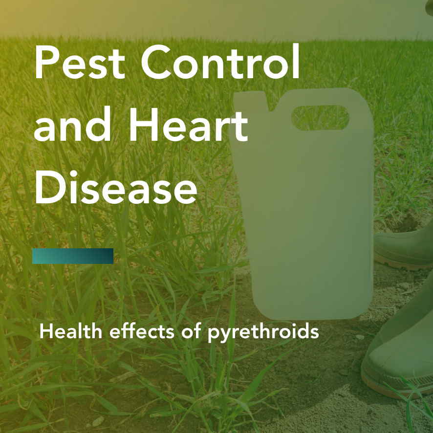 Pest control and heart disease title
