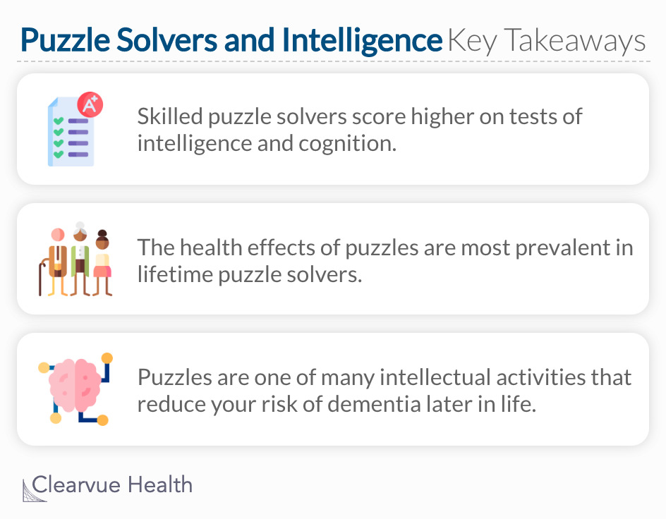 key takeaways of puzzle solvers and intelligence
