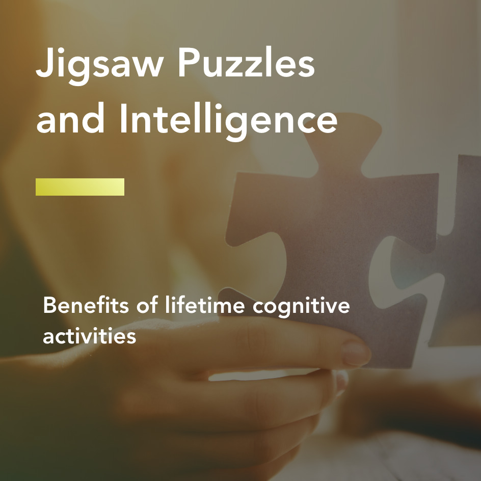 Jigsaw puzzles and intelligence title
