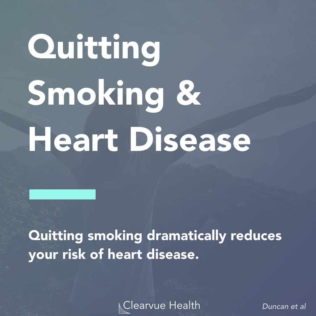 Quitting Smoking & Heart Disease