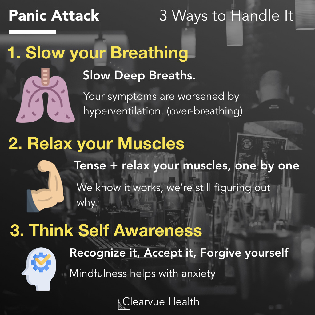 Handling Anxiety and Panic Attacks