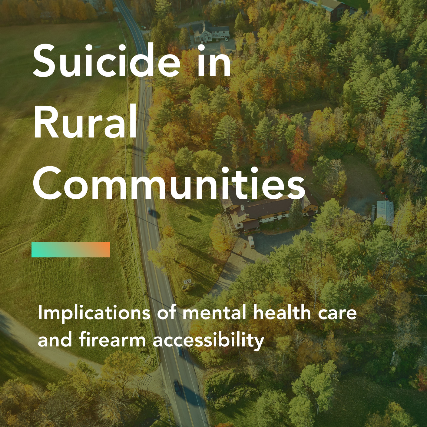 Suicide in rural communities title page