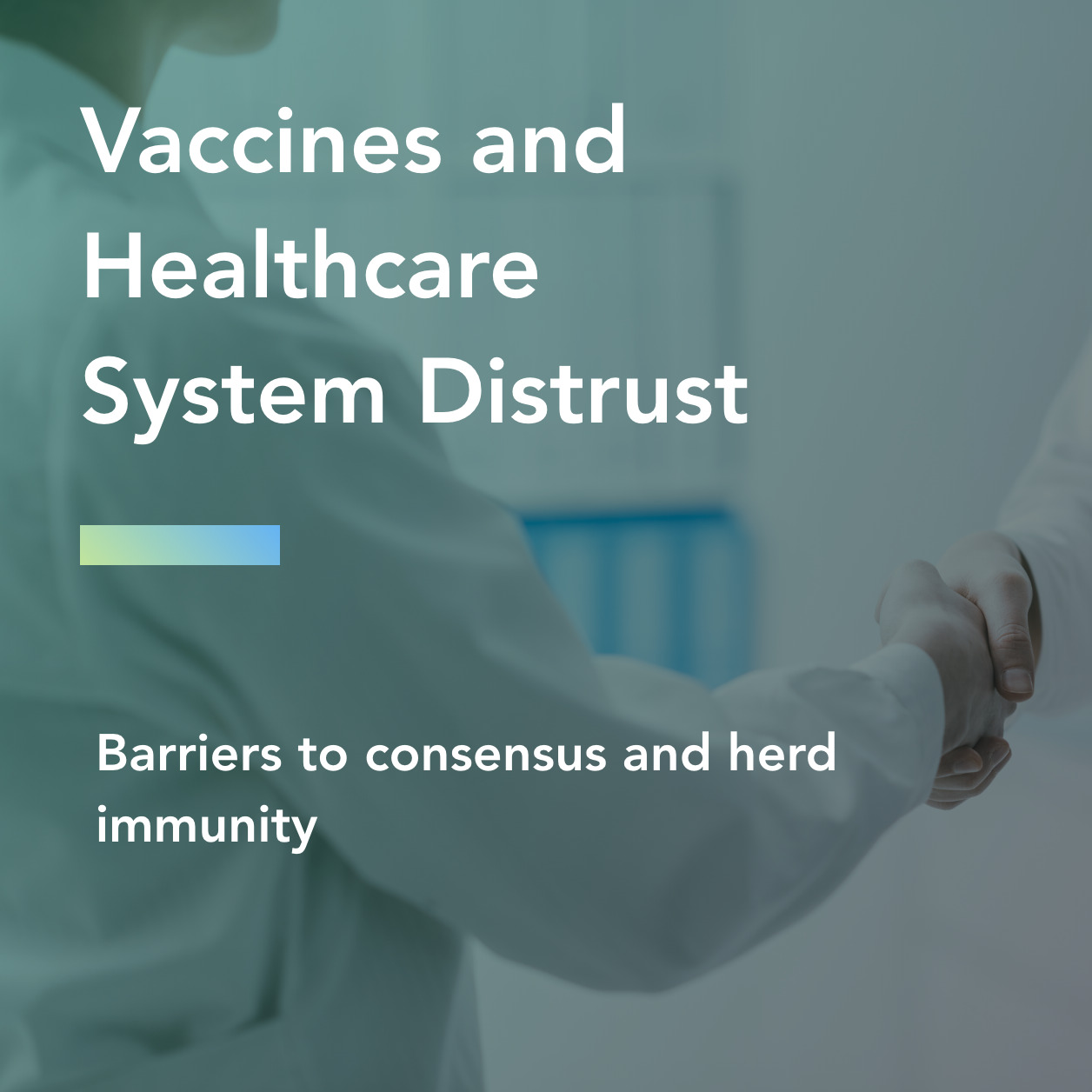 vaccines and healthcare distrust title