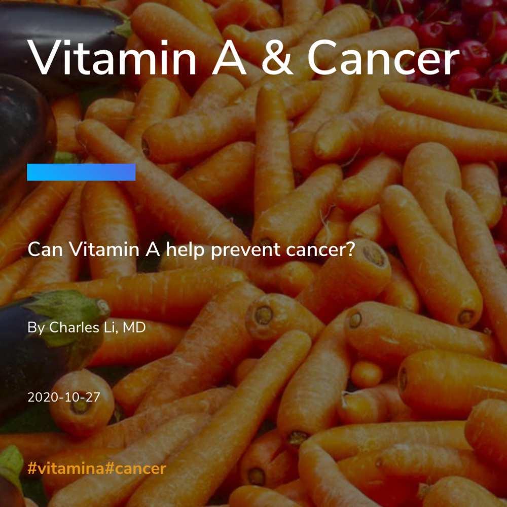 Vitamin A & Cancer