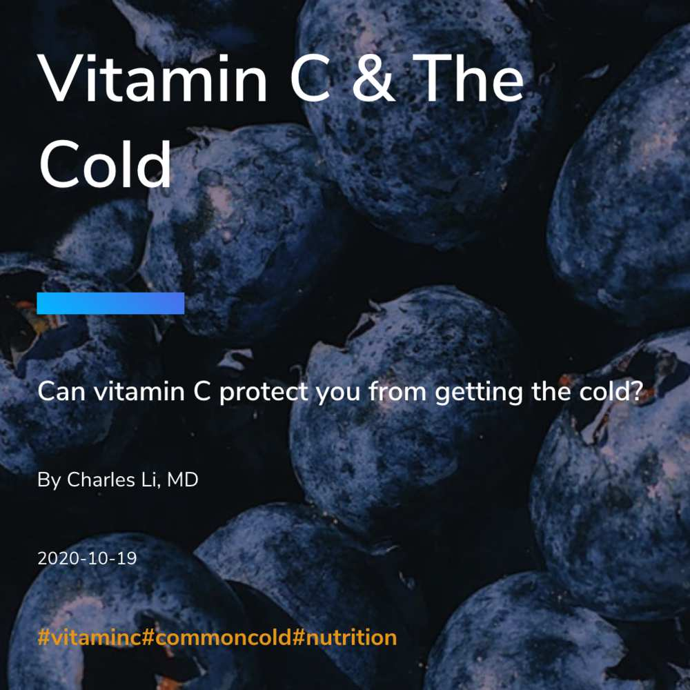 Vitamin C & The Cold