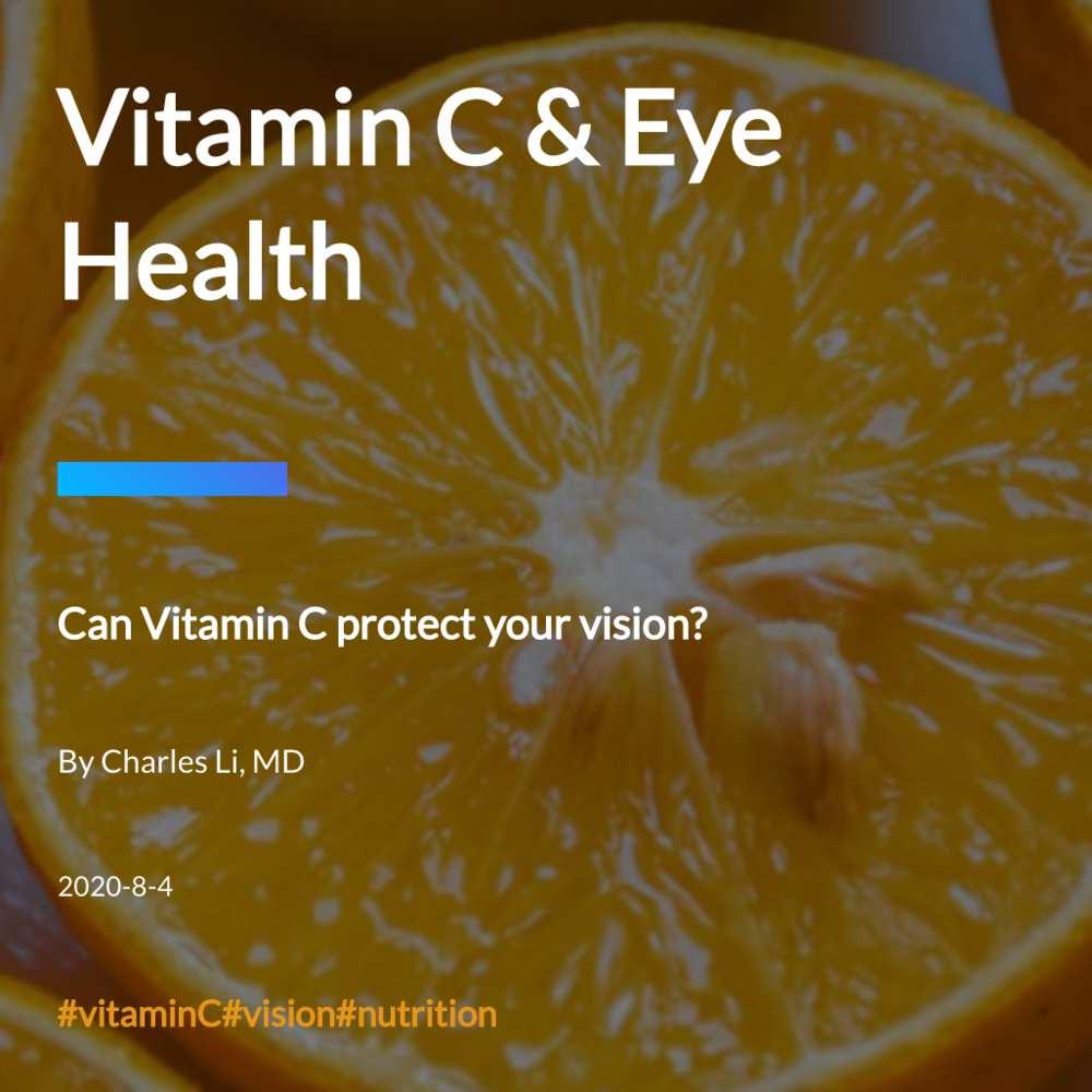 Vitamin C & Eye Health