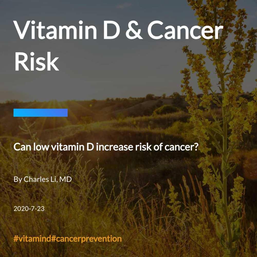 Vitamin D & Cancer Risk