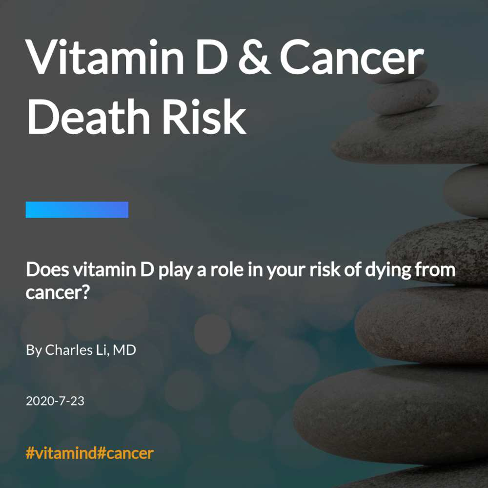 Vitamin D & Cancer Death Risk