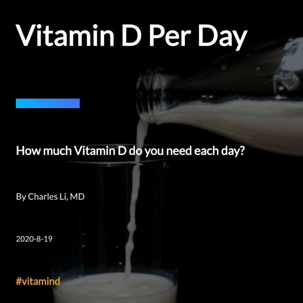 Vitamin D Per Day