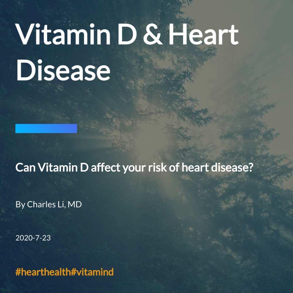 Vitamin D & Heart Disease