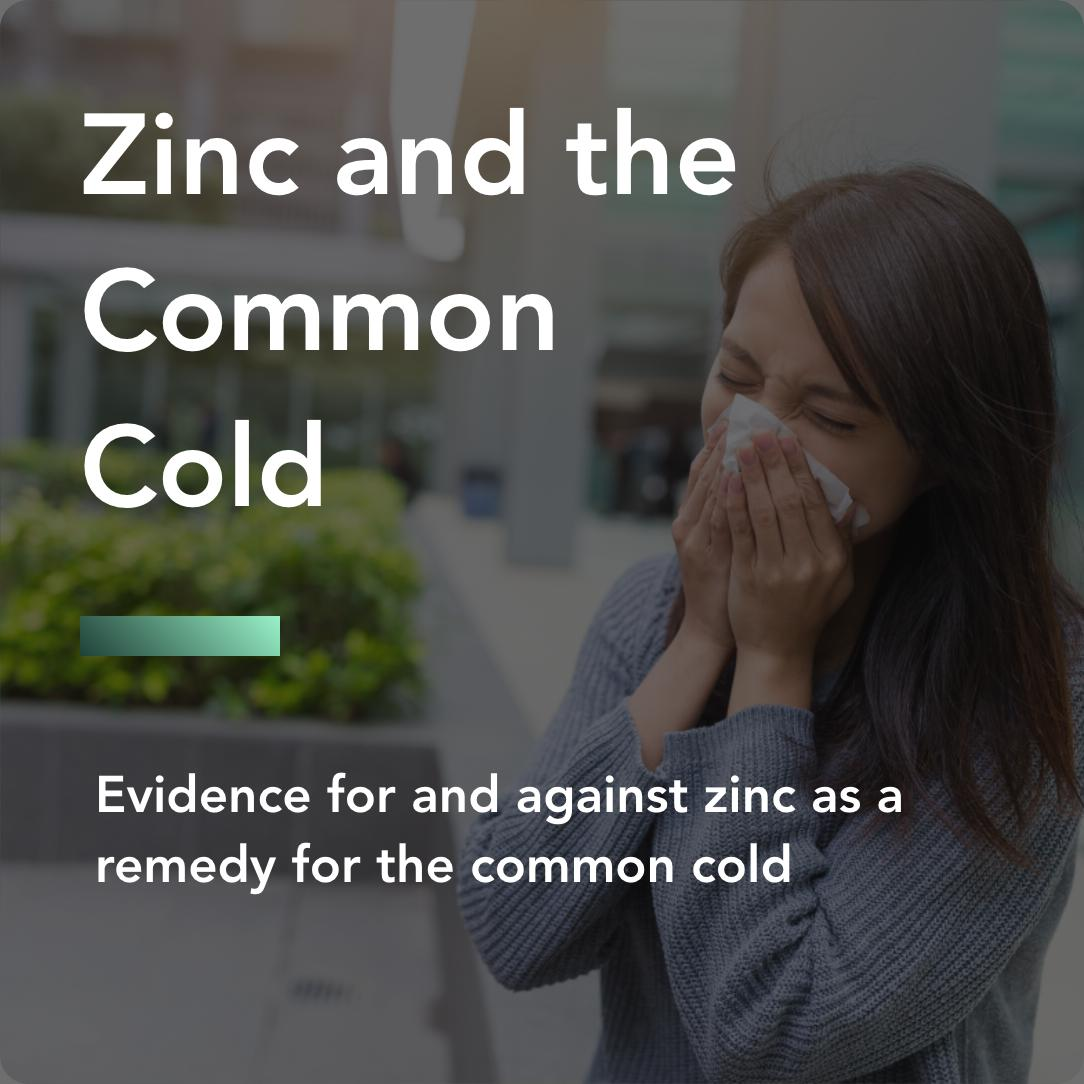 zinc and the common cold title